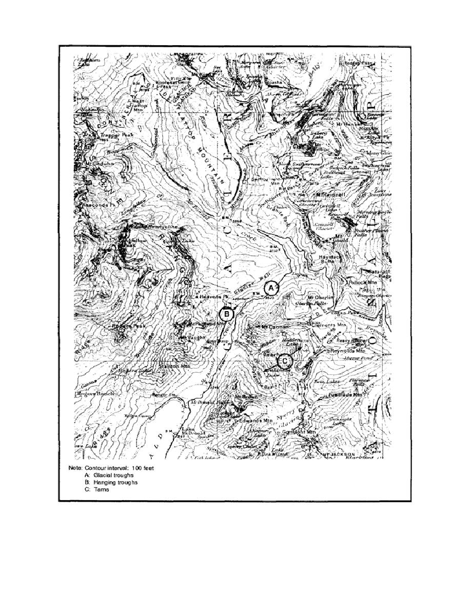 Figure 2 18 Topographic Map Of Chief Mountain Montana