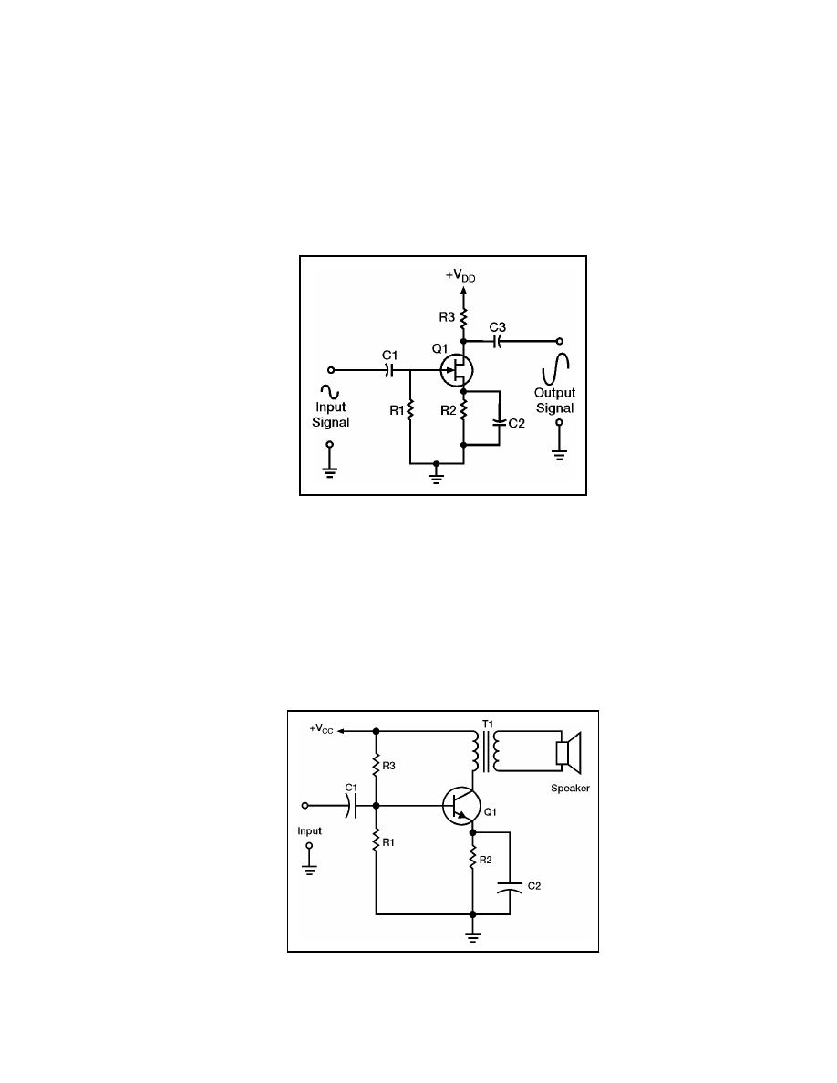 Circuit Diagram Of Rc Coupled Amplifier Current Load Isolation Amplifiercircuit Figure 523 Class A Commonsource Rccoupled Fet Audio