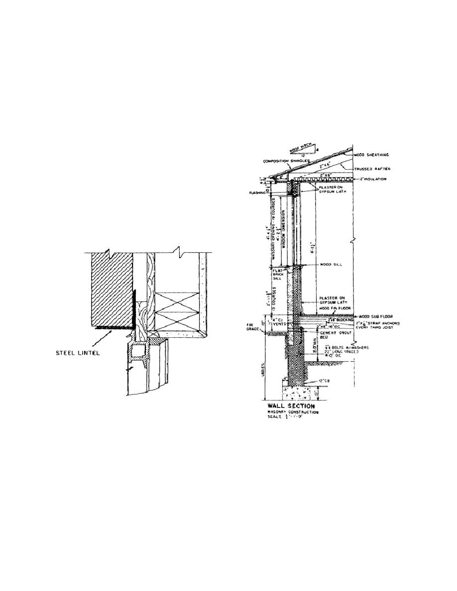 Typical steel lintel detail.  sc 1 st  Engineer Reference and Training Manuals - Integrated Publishing & Figure -2-27. Typical steel lintel detail.