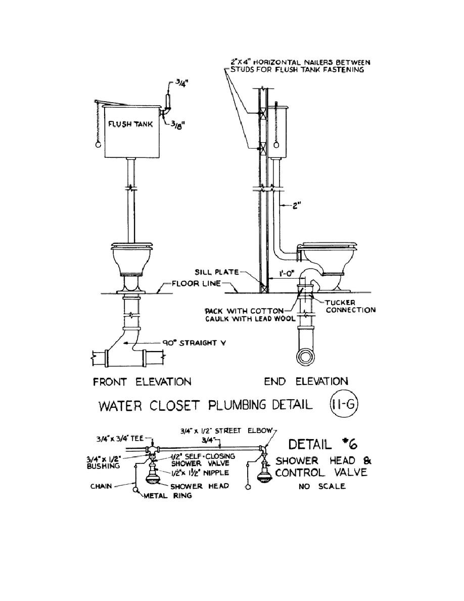 figure 3 10 typical plumbing details