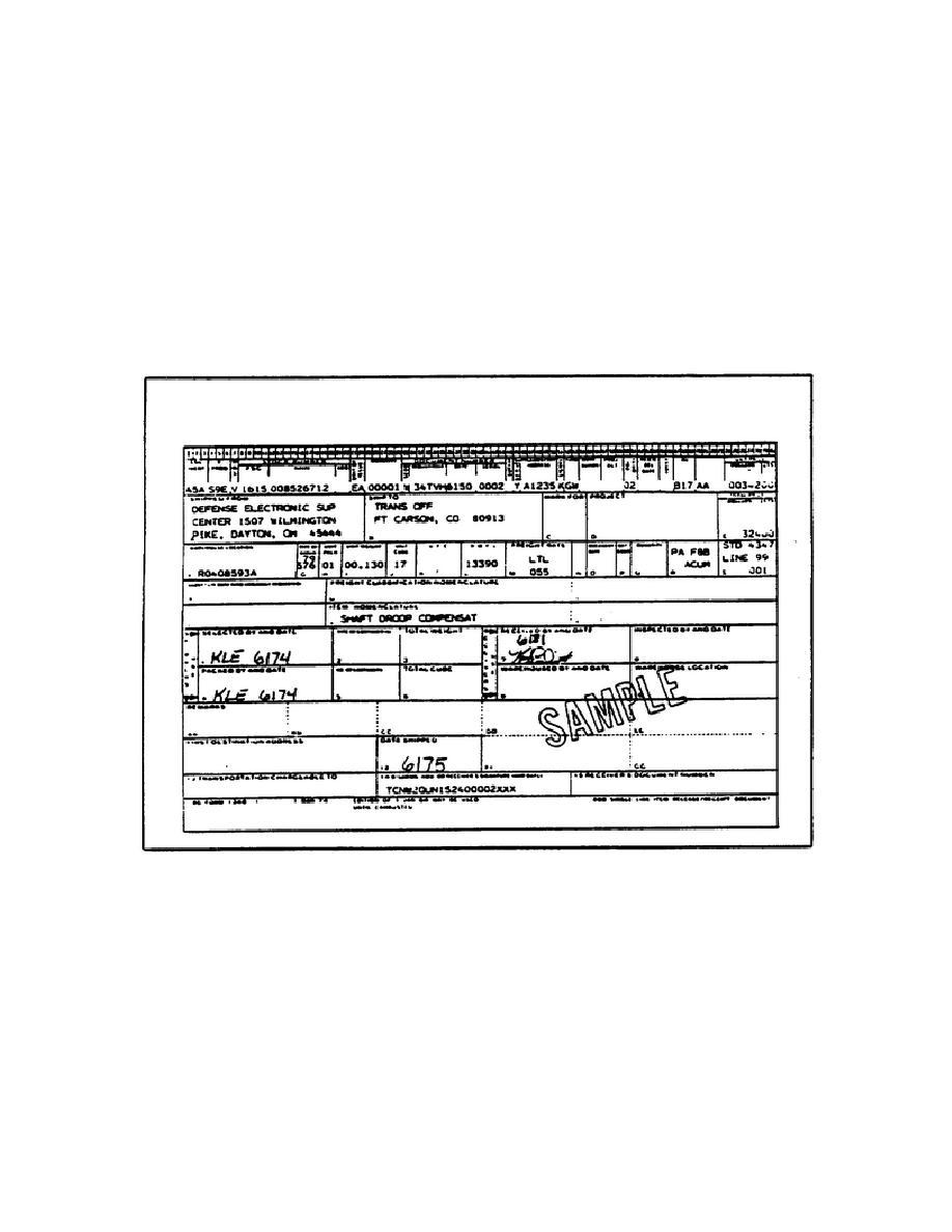 Figure 37. DD Form 1348-1 ( DOD Single Line Item Release/Receipt ...